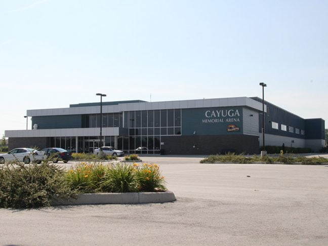 Cayuga Arena Outside