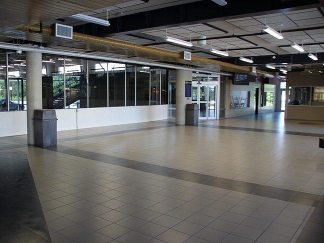 Cayuga Arena Lobby