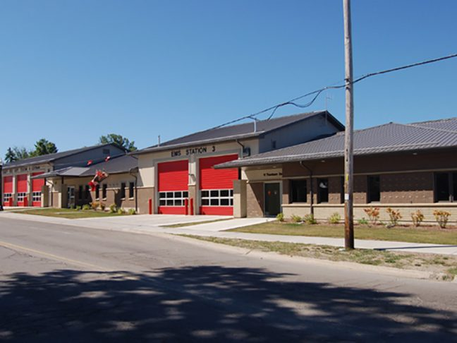 Cayuga Fire Station