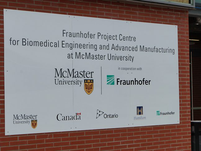 McMaster University Beam Fraunhofer Project