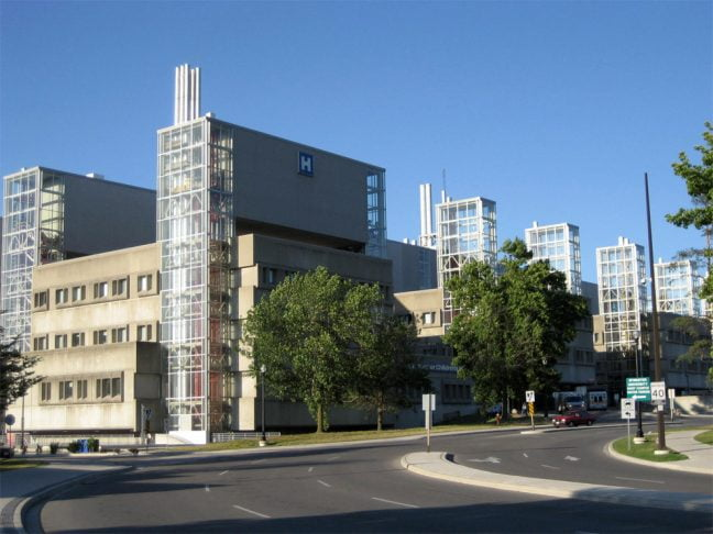 McMaster University Medical Centre in Hamilton Ontario