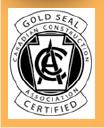 Gold Seal Certified Logo