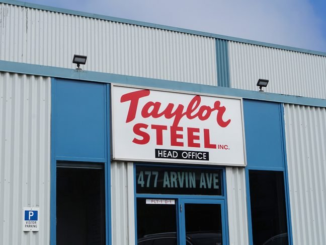 Taylor Steel Outdoor View